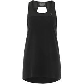 asics Loose Strappy Tank Damen performance black